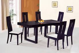 Dinner Table Modern Style Dining Table And Chairs With Luxury Wooden Dinner