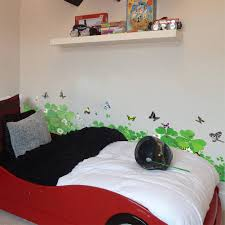 Butterfly Home Decor Four Leaved Clover Wall Border Liner Sticker Wall Decor Mural