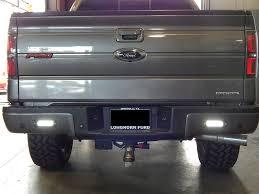 led bumper backup lights flush mounted led back up lights on a ford f150 these powerful led