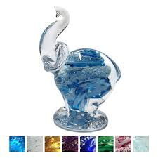 ashes into glass cremation ashes glass elephants