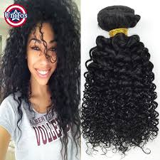 picture of hair sew ins brazilian hair weave bundles curly 2 pcs jet black jerry curly