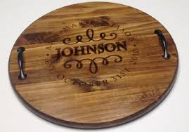 personalized serving tray personalized serving tray wood serving tray wine barrel tray