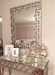 Wall Decor Mirror Home Accents Nikki Ro U0027s Opulent Entryway Gets A Dose Of Dimension From Our