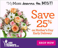 flower delivery coupons 1800flowers coupon 25 on early delivery for s day