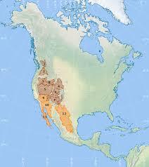 america map utah list of american deserts