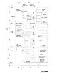 architecture stunning house section plan of brick cell house with