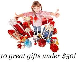 ten christmas gifts under 50