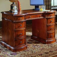 Slaters Furniture Modesto by Hooker Furniture Small Knee Hole Desks Knee Hole Desk With Bow