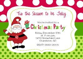 Lunch Invitation Card Christmas Party Invitations Kawaiitheo Com