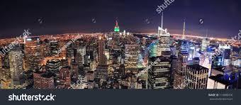 new york city skyline aerial panorama stock photo 114080416