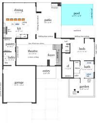 architectures open plan beach house designs simple floor plans