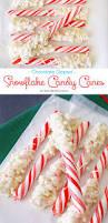 chocolate snowflake candy canes kleinworth u0026 co