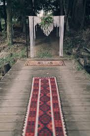 wedding backdrop london our rug aisle and macrame wedding backdrop hummingbird