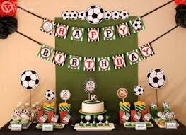 soccer party ideas soccer themed birthday party ideas lovetoknow