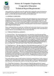 template for technical report 23 images of engineering technical report format template