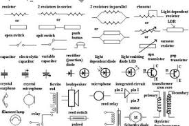 electrical symbols with light bulb schematic symbol also battery
