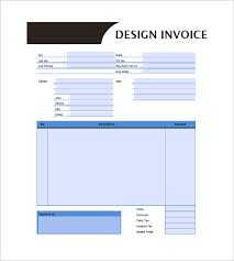 designing invoice template u2013 10 free sample example format