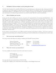 Lawsuit Swire Wage Lawsuit U2013 Notice U0026 Consent Form For Your Swire Wage Claim