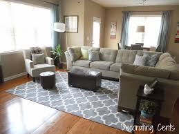 Decorating Cents New Family Room Rug - Family room rugs