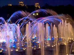 Lighted Water Fountains Outdoor by Led Lighting Outdoor Water Fountains With Led Lights Compelling