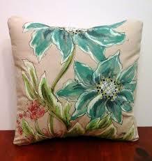 Patio Pillow Covers Decorative Pillow Cover Spring Patio Pillows By Sippingicedtea