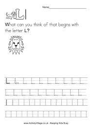 lion worksheets