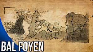 bal foyen treasure map bal foyen ce treasure map guide the elder scrolls