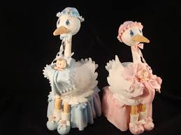stork cake topper stork cake topper baby shower cake stork for cake blue