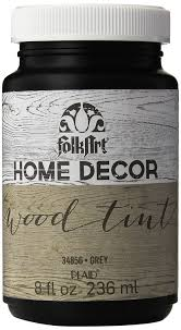 Sl Home Decor Amazon Com Folkart Home Decor Wood Tint 8 Ounce 34856 Grey