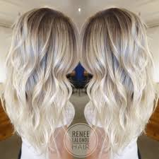platinum hairstyles with some brown platinum blonde balayage long hair beach waves glavportal