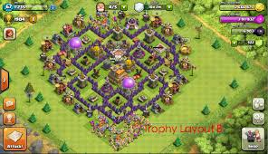 clash of clans the mantis a th7 variation of