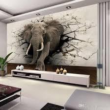 wall stickers murals wall designs oversized wall custom 3d elephant wall mural