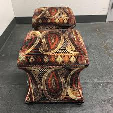 Hassocks Ottomans Hickory Chair Charles Hassocks Ottomans A Pair Chairish