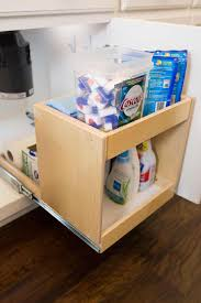 shelf genie under sink pull out shelving kitchen solutions home