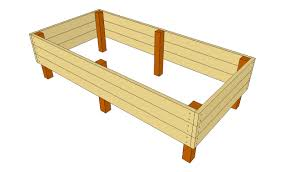 elevated garden bed plans raised garden bed plans free free