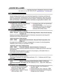 Senior Financial Analyst Sample Resume by Sample Resume 85 Free Sample Resumes By Easyjob Sample Resume