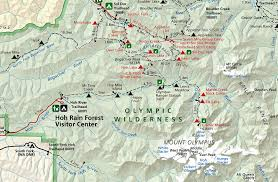 Olympic National Park Map Walk It Off Evening Light Pacific Nw Forest Pinterest