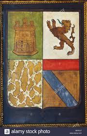 coat of arms of christopher columbus in la rabida monastery palos