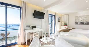 chambre des m iers vannes chambre avec terrasse balnéo vue mer vannes hotel 3 etoiles vue