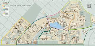 American University Campus Map Bike Rack Map Parking And Transportation Real Estate And
