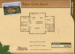 log home living floor plans aspen grove log home plan by whisper creek log homes
