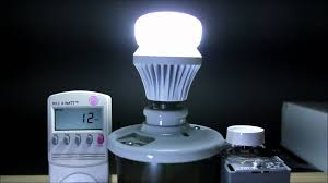 led light bulb wattage chart utilitech 60 watt equivalent led light bulb review youtube
