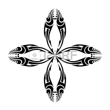 tribal cross designs royalty free cliparts vectors and