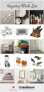 furniture wedding registry the best wedding registry experience with crate and barrel