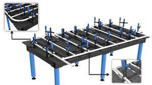 miller arcstation 30fx welding table fixto welding table youtube