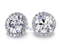 diamonds earrings design your own custom diamond earrings at brilliance