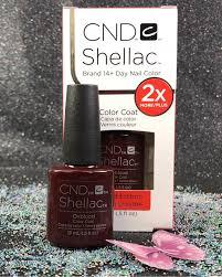 cnd led l problems big cnd shellac oxblood 92213 gel color coat l gel nails com