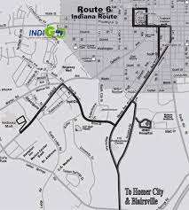 Map Route by Route 6 Route Map Indigobus Com