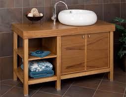 artistic teak vessel sink vanity vanities bathroom on find your