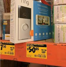 ring doorbell 50 03 home depot clearance b m only ymmv